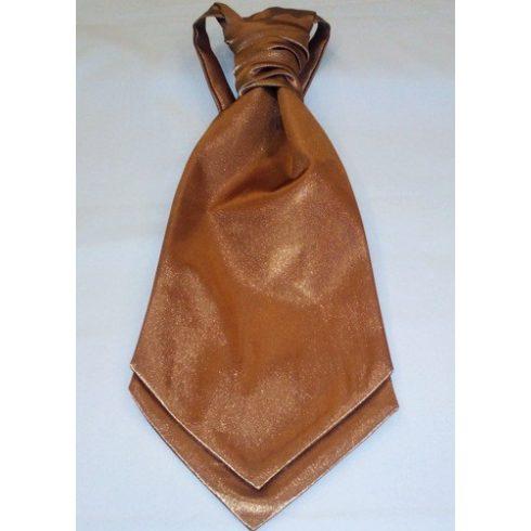 Bronzbarna francia nyakkendő