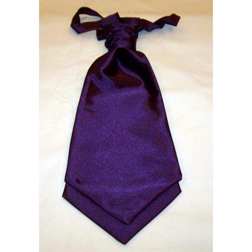 Sötétlila francia nyakkendő