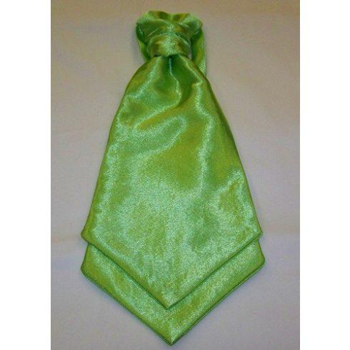 Neonzöld francia nyakkendő