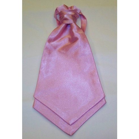 Világos rózsaszín francia nyakkendő