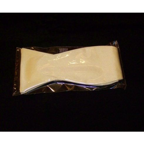 Sárga poliészter megkötős csokornyakkendő