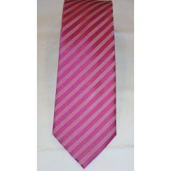 d391666010 Csíkos - Selyem nyakkendő - Nyakkendő - Aranykéz Divatáru