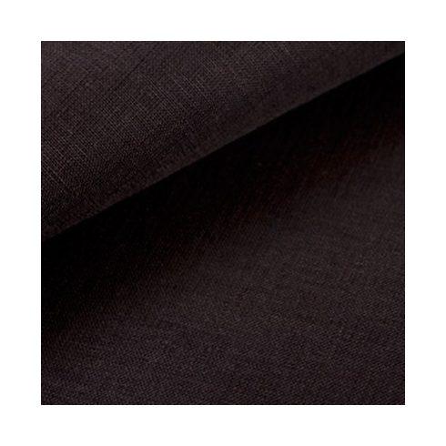 Fekete len díszzsebkendő