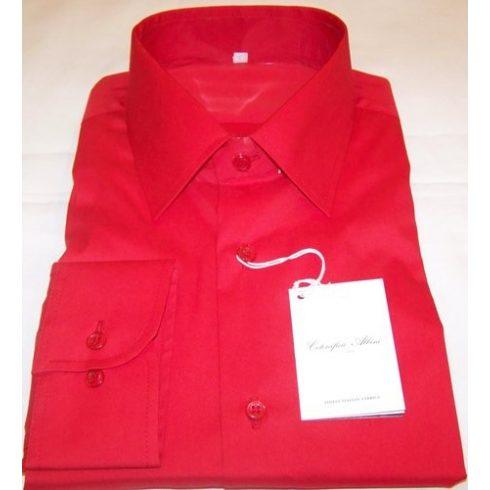 Piros hosszú ujjú ing