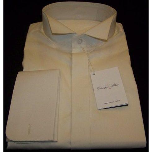 Krémszínű szmoking ing