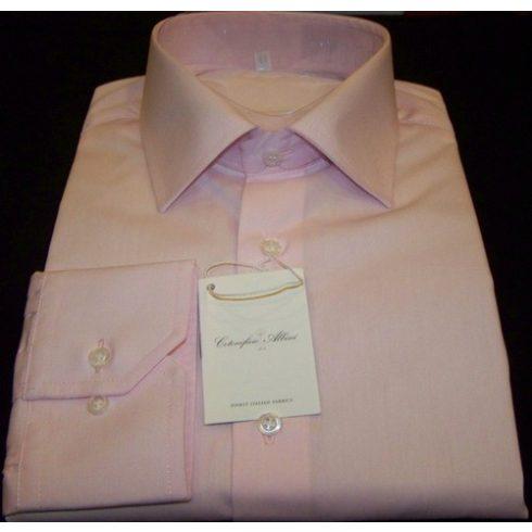 Világos rózsaszín hosszú ujjú ing