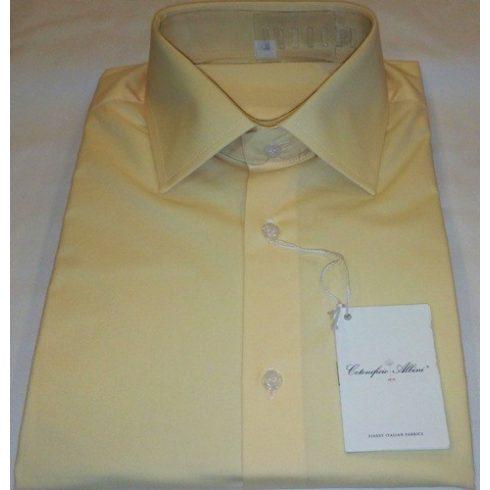 Sárga rövid ujjú ing