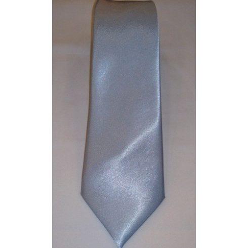 Jégkék selyem nyakkendő