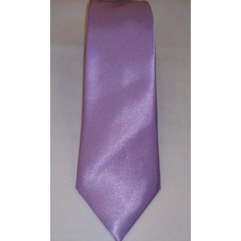 Világoslila selyem nyakkendő