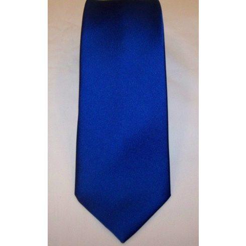 Királykék selyem nyakkendő