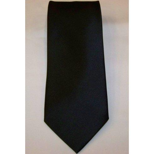Fekete poliészter nyakkendő