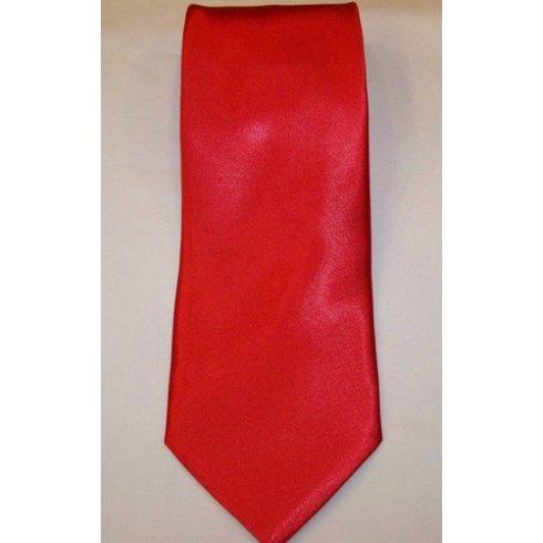 Piros poliészter nyakkendő