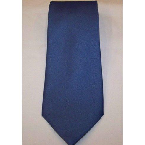 Középkék poliészter nyakkendő